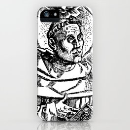 Portrait of Martin Luther iPhone Case