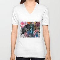 return V-neck T-shirts featuring The Return by Jen Hynds