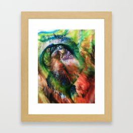 Milk and Color Framed Art Print