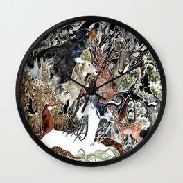 The Glass Menagerie Wall Clock