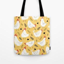 Lovely Little Hens Tote Bag