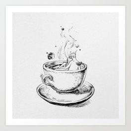 Heaven cup. Art Print