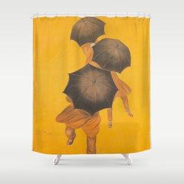 Vintage poster - Parapluie-Revel Shower Curtain