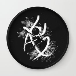 Fearless Rune Wall Clock