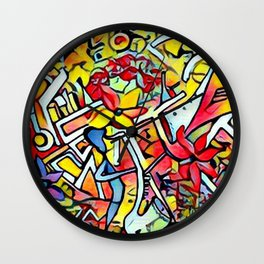 All that Jazz Summer Sessions Wall Clock