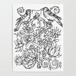 Runes & Ravens Poster