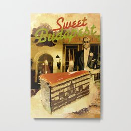 Sweet Budapest – Dobostorta cake at the Gerbeaud Metal Print