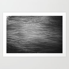 black velvet Art Print