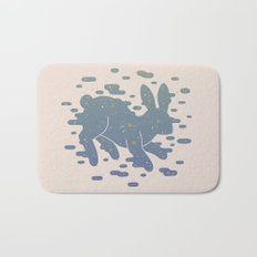 Lepus Constellation: Pastel Bath Mat