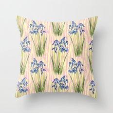 Bluebell Meadow Throw Pillow