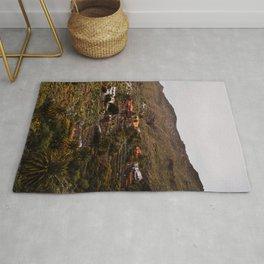 Masca, Village, Tenerife - Travel Photography Art Print Rug