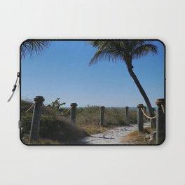 Captiva Island Beach Access Laptop Sleeve