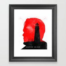 Shutter Island - Movie Poster Framed Art Print