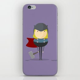 My handy hero! iPhone Skin