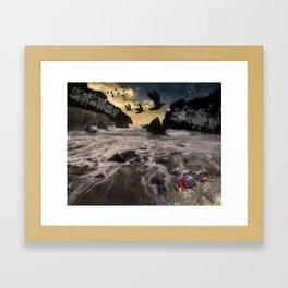 Lost Seas Framed Art Print