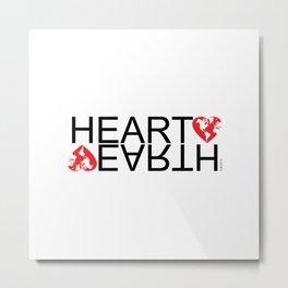 HEARTEARTH Metal Print