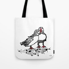 the Puffins Tote Bag