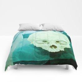 Skull historical Colombian. Comforters