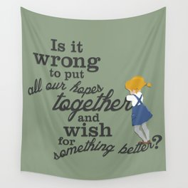 Something Better Wall Tapestry