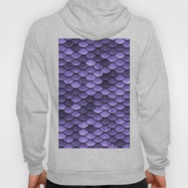 Mermaid Scales Periwinkle Ultra Violet Hoody