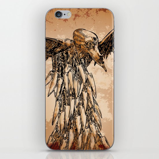 KNIFE VULTURE iPhone & iPod Skin