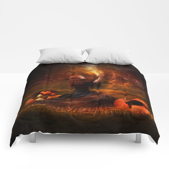 The Witch Fantasy Mystic Scene  Comforters