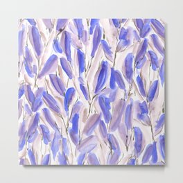 Growth Violet Metal Print