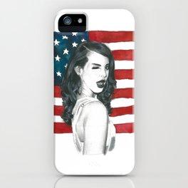 Lana DelRey iPhone Case