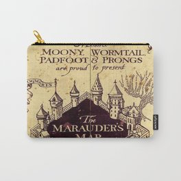 The Marauders Map castle harrypotter Carry-All Pouch
