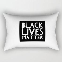 Black Lives Matter 3 Rectangular Pillow
