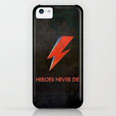Heroes Never Die - for iphone iPhone 5c Slim Case