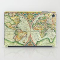 uncharted iPad Cases featuring Terra Firma by Catherine Holcombe