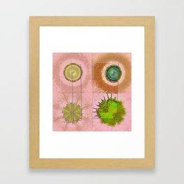 Tricksical Peeled Flowers  ID:16165-011113-25451 Framed Art Print