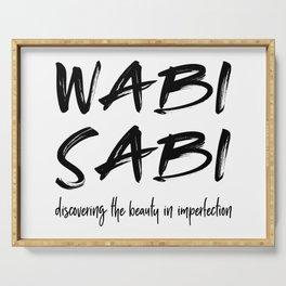 Wabi Sabi Serving Tray
