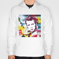 rebel Hoodies featuring Rebel by Paky Gagliano