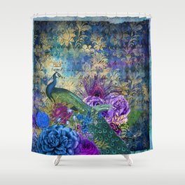 Feather Peacock 20 Shower Curtain