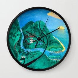 Wangetti Wall Clock