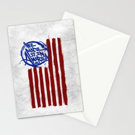We Made it in America (white) Stationery Cards