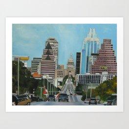 The Capitol, Austin, TX Art Print