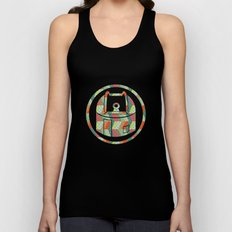 retro pattern and observatory 2 Unisex Tank Top