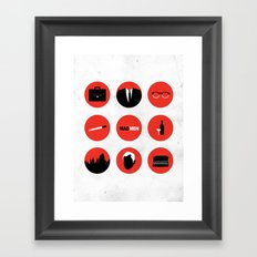 Mad Men Framed Art Print