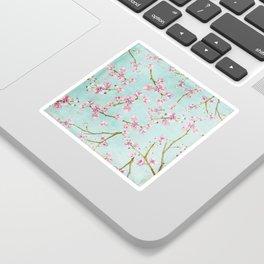 Spring Flowers - Cherry Blossom Pattern Sticker