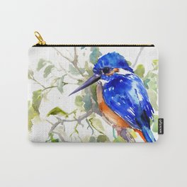 Kingfisher on the Tree Carry-All Pouch
