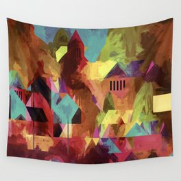 Little old town - modified 3 hours later Wall Tapestry