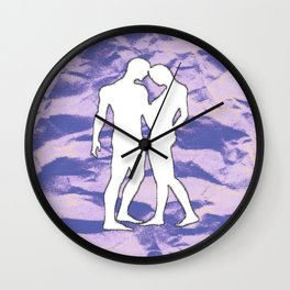 Woman and Man Wall Clock