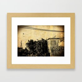 Havana Streets Framed Art Print