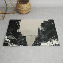 Black & White Bourbon Street Rug