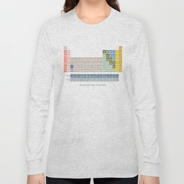 Moden Periodic Table Long Sleeve T-shirt