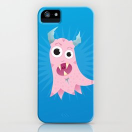 Peggy Hela Good Pink Monster iPhone Case