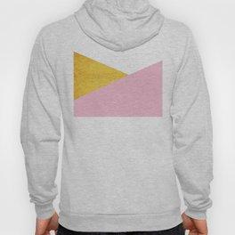 Gold & Pink Geometry Hoody